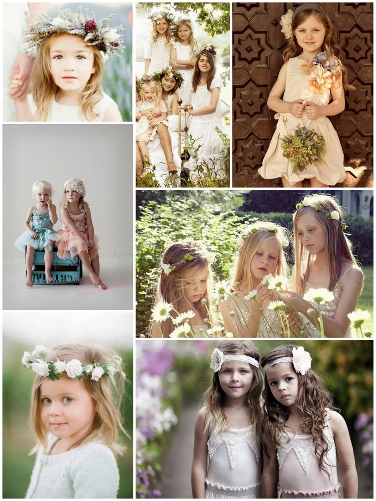 Wedding Flower Girl Vintage